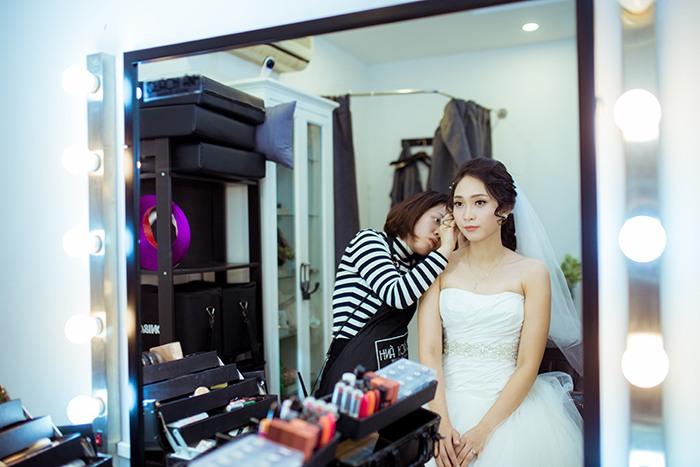 kiểu tóc đám cưới