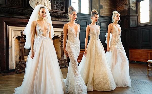 Váy cưới trắng chưa bao giờ là lựa chọn sai lầm