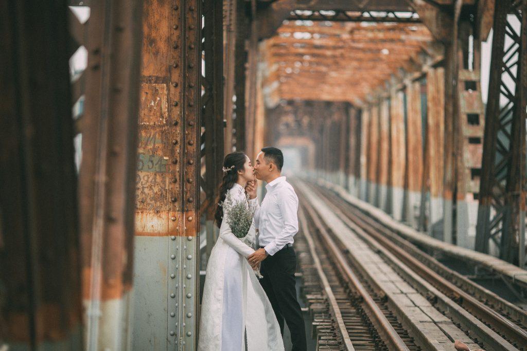 Bộ ảnh cưới mùa thu Hà Nội xưa
