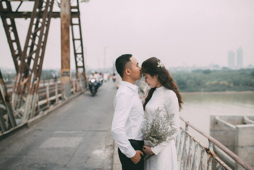 Bộ ảnh cưới mùa thu Hà Nội