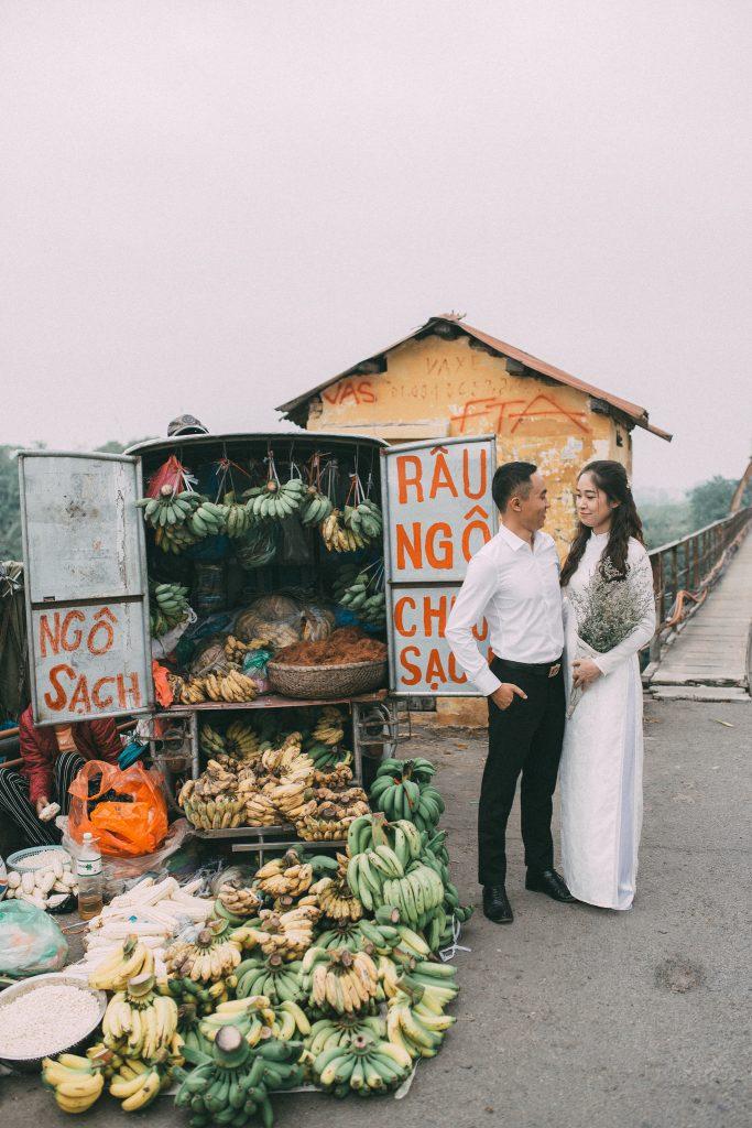 ảnh phóng sự cưới đầy bình dị, tự nhiên và đầy cảm xúc