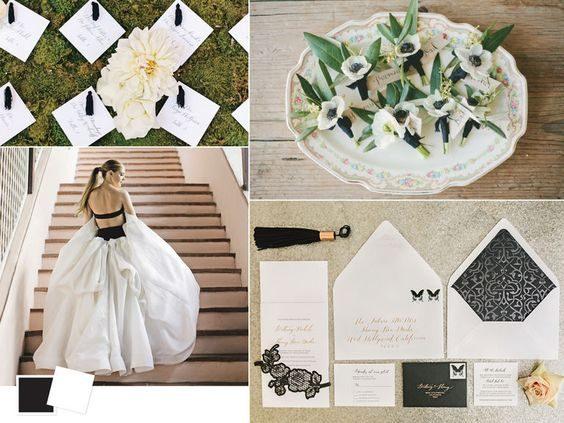 gam màu đám cưới
