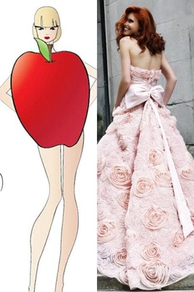Hướng dẫn cách chọn váy cưới phù hợp với dáng người