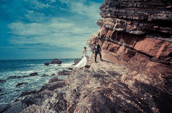 Chụp ảnh cưới ở Cô Tô