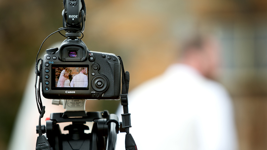 quay phim chụp ảnh đám cưới