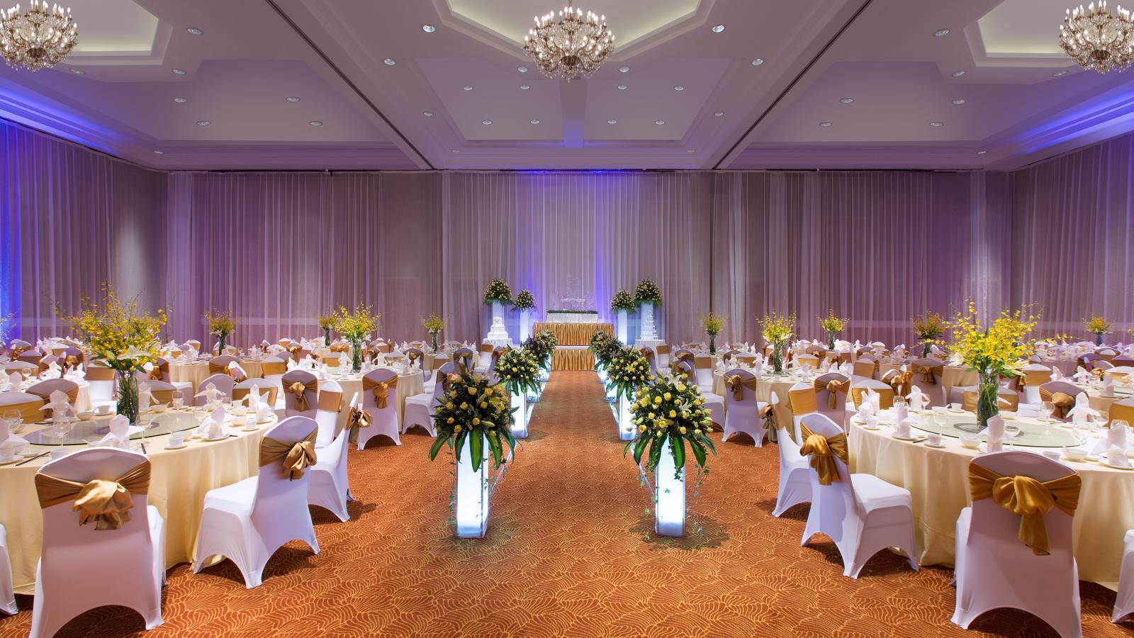 5 địa điểm tổ chức tiệc cưới sang trọng tại Hà Nội