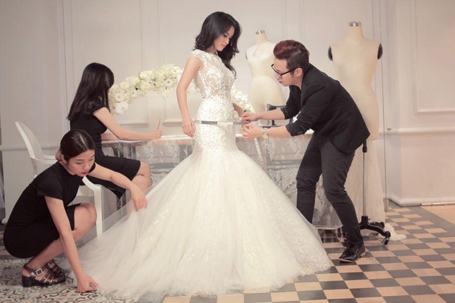 may váy cưới